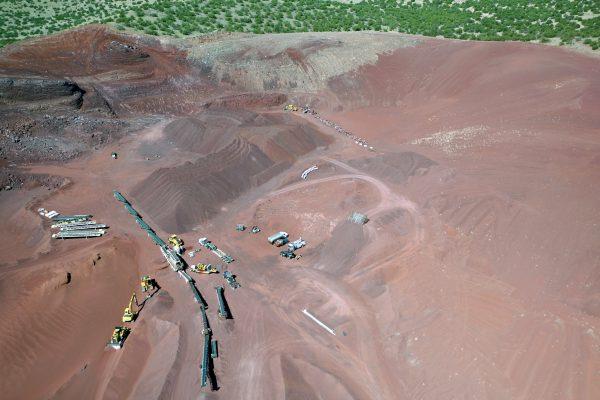 Mining and Stockpiles